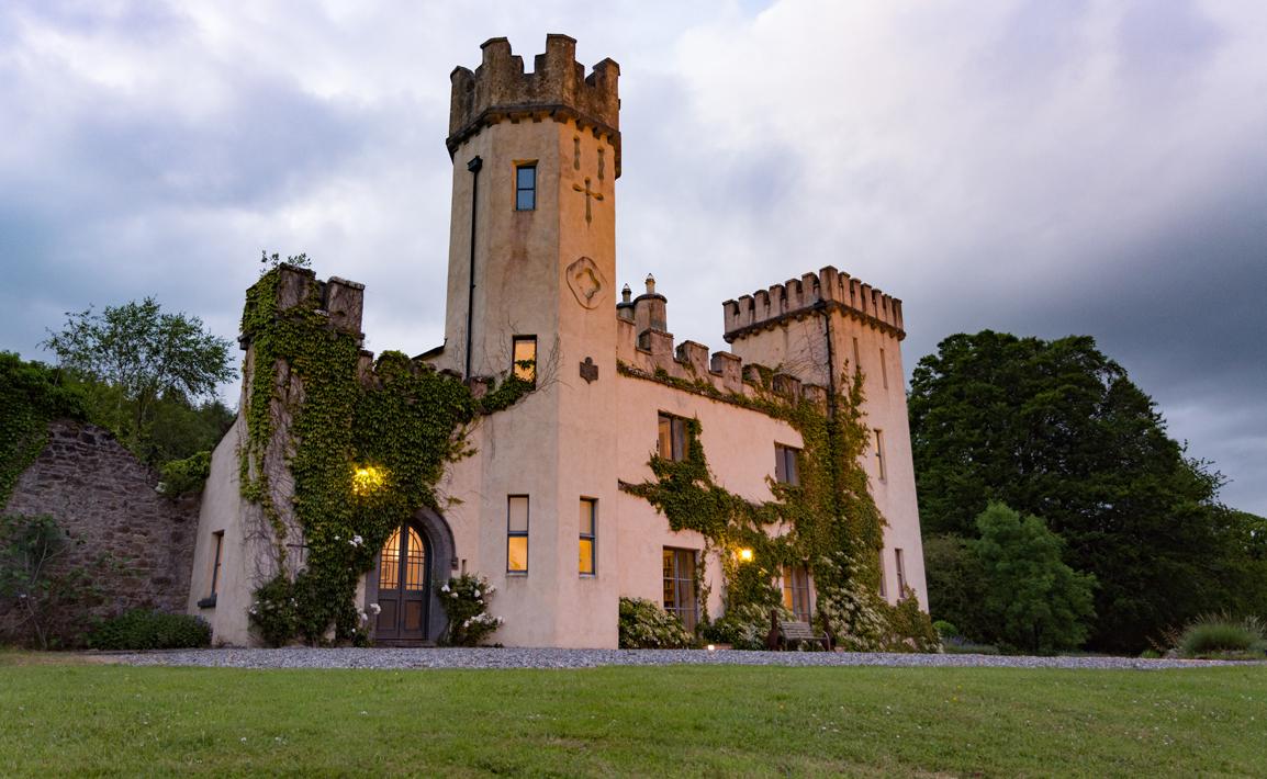 Castle Dusk Angle Side