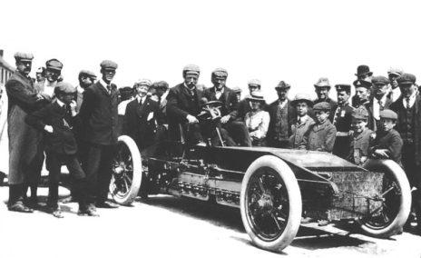 1903 Gordon Bennett Trophy. Athy Ireland. Alexander Winton In The Winton Bullet 2 464x284