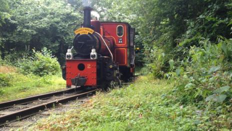 Stradbally Woodland Railway No. 2 Andrew Barclay 0 4 0WT Locomotive 464x262