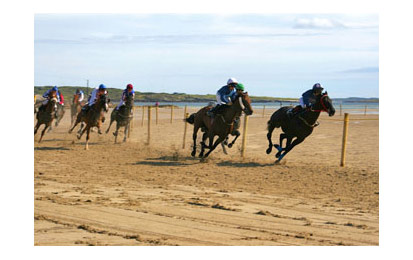 Horse Racing On Strand