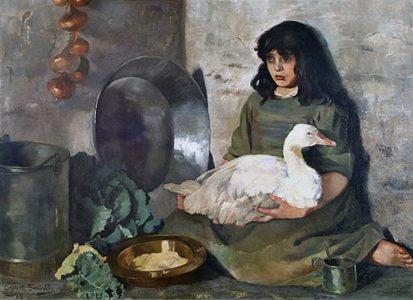 395 P E Somerville The Goose Girl 413x300