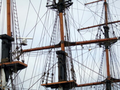 Dunbrody Rigging   Geograph.org .uk   459047 413x310