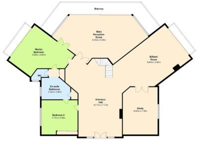 Floor Plan 3 400x284