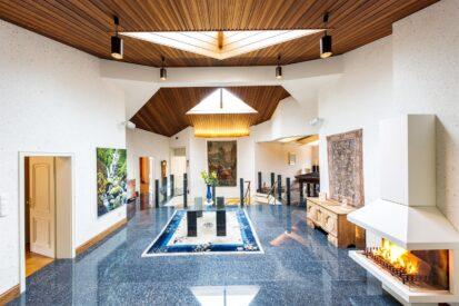 Lobby Granite Floor 413x275