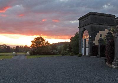 House Entrance Sunset 400x284