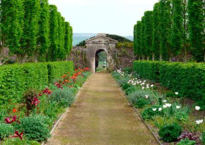 Flower Garden Gate 400x284