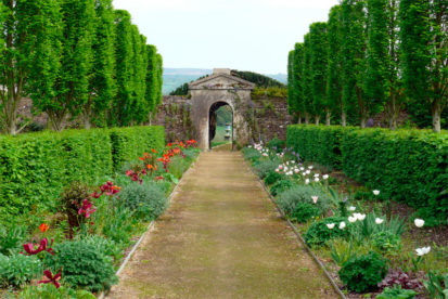 Flower Garden Gate 413x276