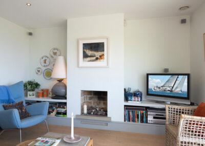 Study Fireplace 400x284