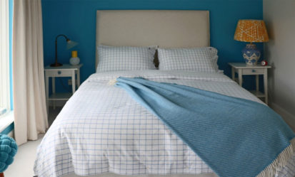 Blue Bed 413x249