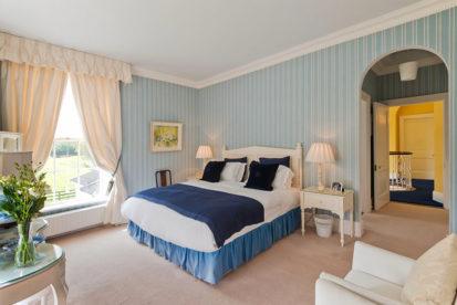 Double Bedroom Blue Bed 413x276