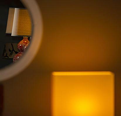 Lamp Mirror T