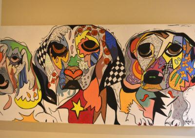 Dog Painting 400x284