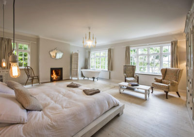 Bedroom With Fire 400x284