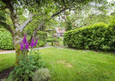 Purple Flower House 400x284