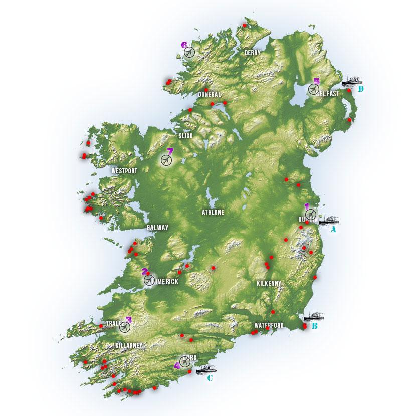 Map Ireland 4